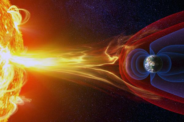 Збурення в магнітному полі нашої планети є магнітною бурею.